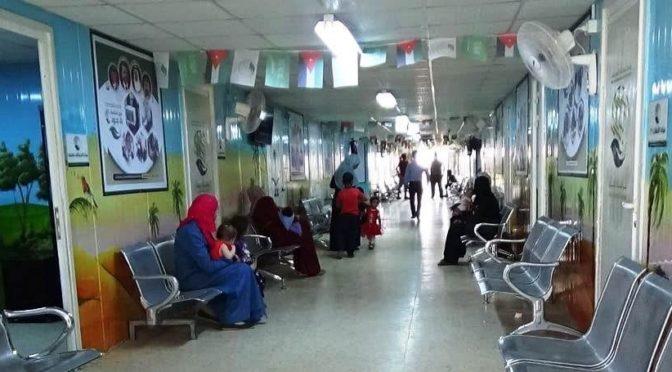 В июне амбулатории Центра гуманитарной помощи им.Короля Салмана предоставили помощь более чем 16 тыс.беженцев в лагере Заатари