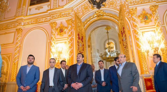 Его Высочество ИО губернатора провинции Эр-Рияд посетил Кремль