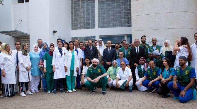 Бригада Центра   им.Короля Салмана выполнила 55 операций на сердце детям Марокко