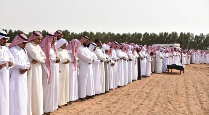 Губернатор округа Самита совершил похоронную молитву по павшему мученником ас-Сумайли