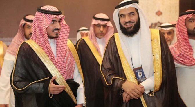 Его  Высочество заместитель губернатора провинции Благородной Мекки открыл  историческую выставку «Выставку сподвижников, да будет доволен Аллах ими  всеми»