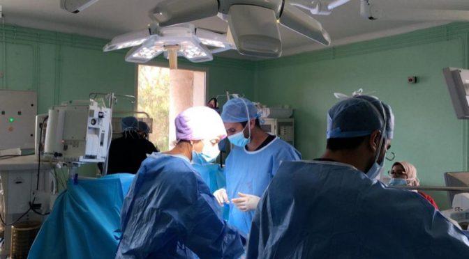 Центр гуманитарной помощи им.Короля Салмана начал врачебную волонтёрскую компанию по операциям на открытом сердце детям в Марокко