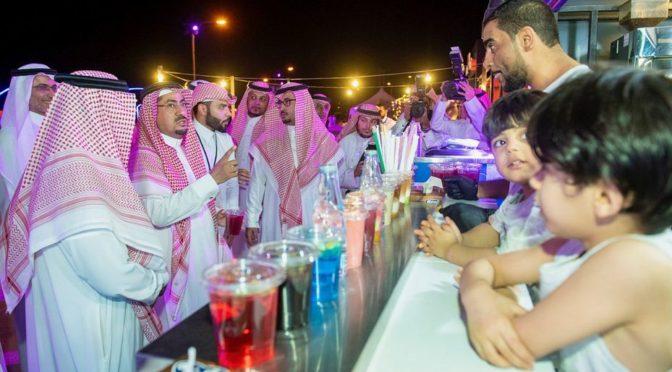 Глава администрации провинции Касым посетил 40-ой летний фестиваль в Бурайде