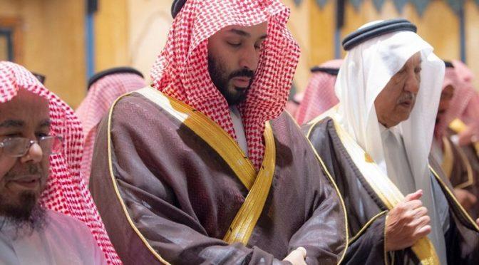 Служитель Двух Святынь совершил похоронную молитву по принцу Бандару бин Абдулазизу в Запретной Мечети