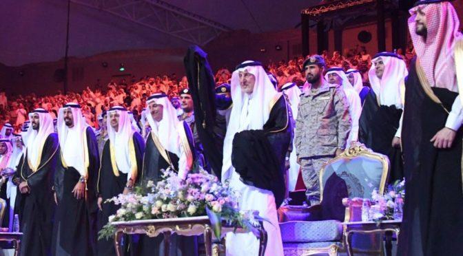 По поручению Служителя Двух Святынь: Его Высочество принц Халид Фейсал посетил церемонию открытия фестиваля «рынок Указ»