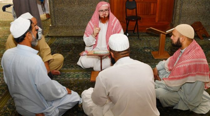 Министерство по делам Ислама в Лучезарной Медине продолжает реализацию ряда обучающих программ на разных языках