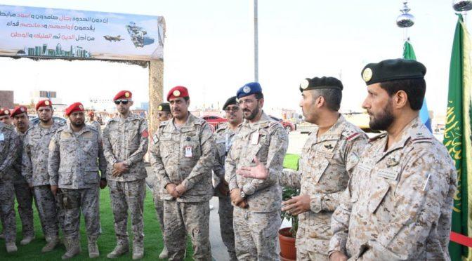 Начальник колледжа сил GDK им.Короля Абдаллаха открывает 13-ую выставку ВС на фестивале «рынок Указ»