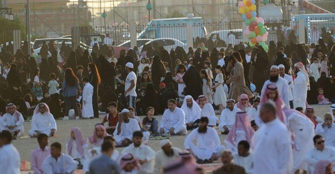 Праздник в Эр-Рияде