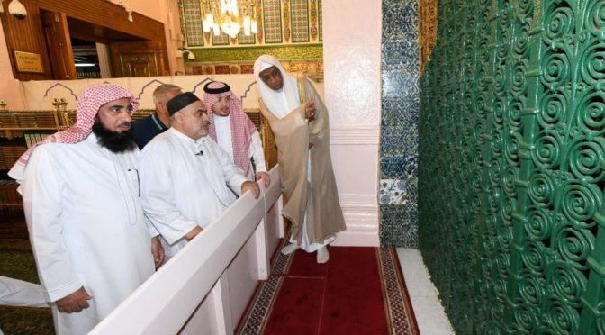 Глава Управления мусульман Кавказа посетил Мечеть Пророка