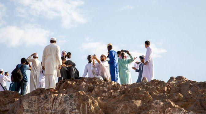 Участники Международного конкурса им.Короля Абдулазиза посетили мечеть Куба и гору Ухуд