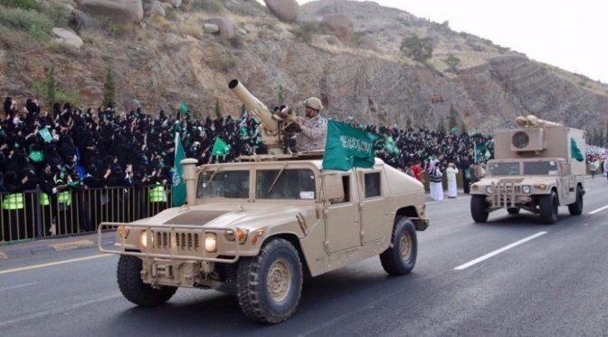 Защитники Отечества на военном параде