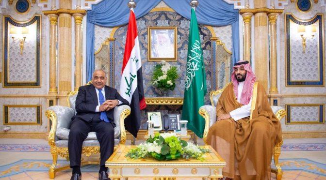 Наследный  принц встретился с премьер-министром Ирака