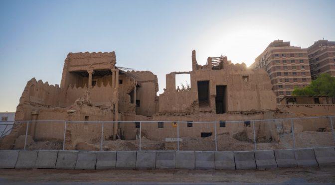 Наследный принц распорядился реставрировать дворец принцессы Нуры бинт Абдуррахман (дворец Шамсия) за свой счёт