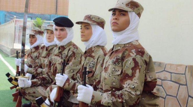 В преддверии Дня Отечества: Впервые в Королевстве военный парад с участием женщин