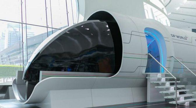 Министр энергетики посетил пассажирскую кабину Virgin Hyperloop One в Абу Даби