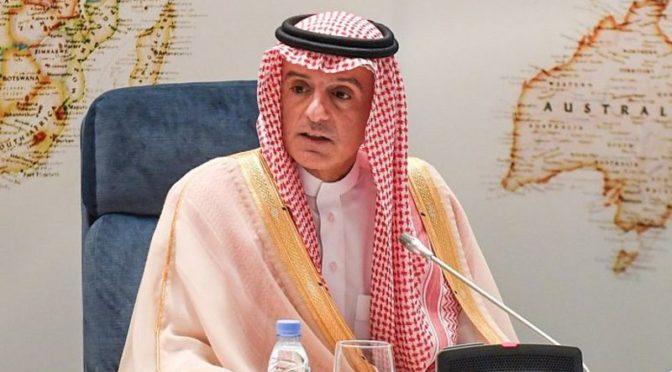 аль-Джубейр: утверждения иранского режима о том что Королевство направило ему послания не точны
