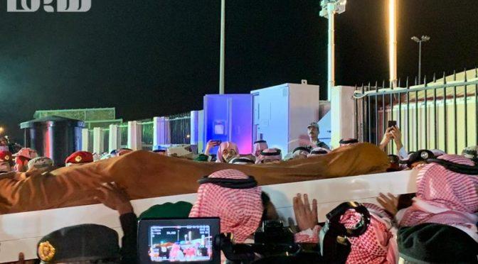 Кладбище мученников Запретной Мечети приняло тело охранника Служителя Двух Святынь