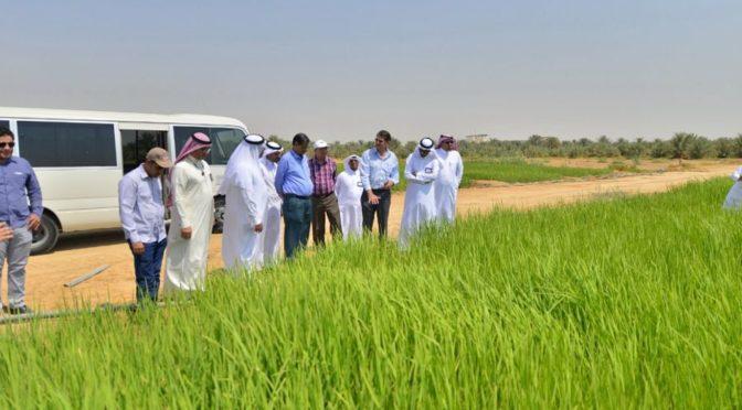 Ирригаторы Ахсы принимают делегацию Международной организации ирригации