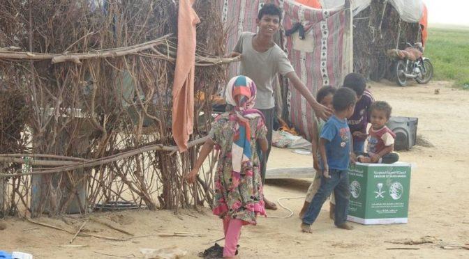 13 грузовиков с гуманитарной помощь направил Центр им.Короля Салмана в Йемен