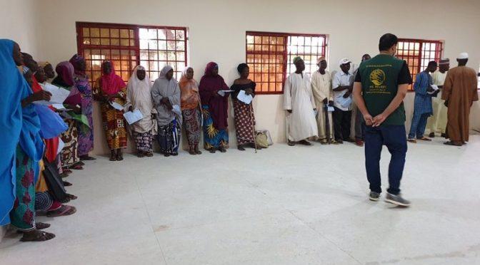 Центр  гуманитарной помощи им.Короля Салмана продолжает врачебную компанию по  борьбе со слепотой и  вызывающими её болезнями  в Нигерии