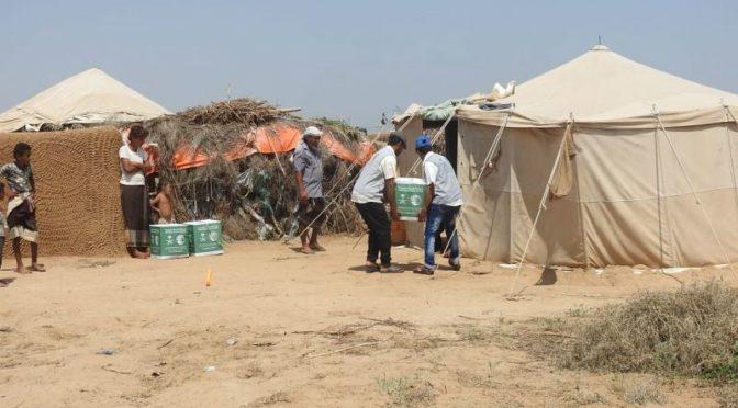 Центр  спасения и гуманитарной деятельности им. короля Салмана реализует  программу водоснабжения и санитарии в районе Хоха, провинция Ходейда