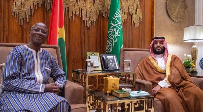 Его Высочество наследный принц встретился с президентом Нигера и премьер-министром республики Буркина-Фасо