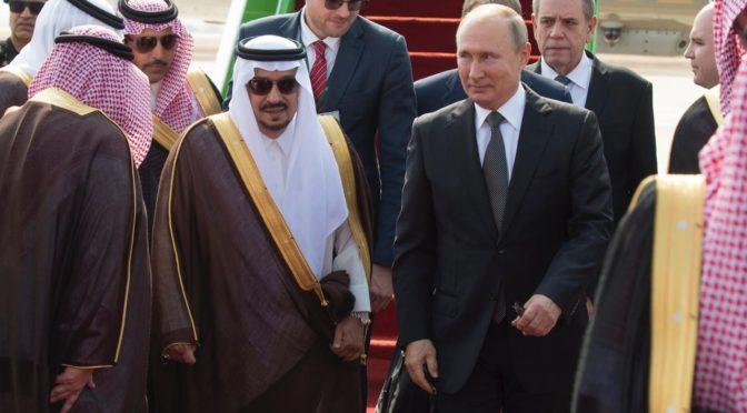 Президент России прибыл в Эр-Рияд