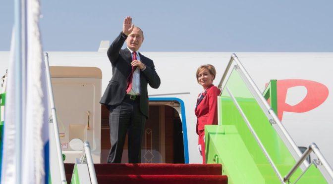 Президент России покинул Эр-Рияд