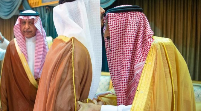 Служитель Двух Святынь принял Министра иностранных дел ОАЭ