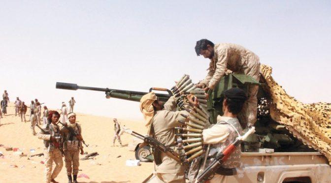 Интенсивные налёты ВВС коалиции против хусиитов на западе провинции Джуф