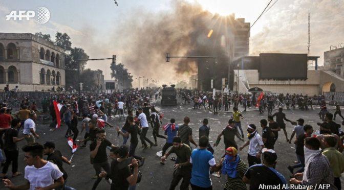 Ирак: 60 убитых в ходе столкновений, из них минимум 18 — в Багдаде