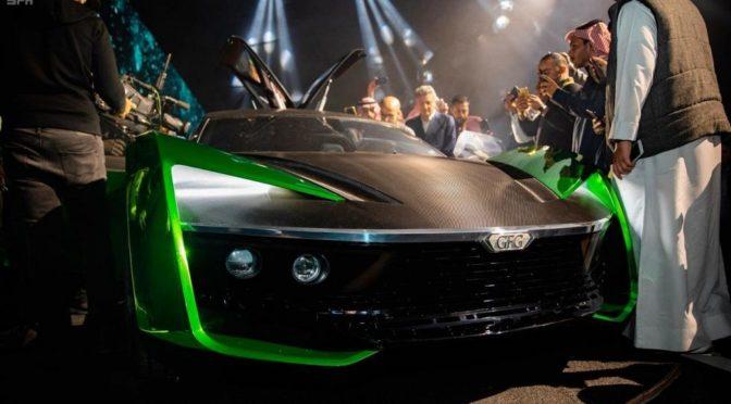 «Автомобиль будущего 2030» продан за 2.3 млн.риалов на выставке автомобилей в Эр-Рияде