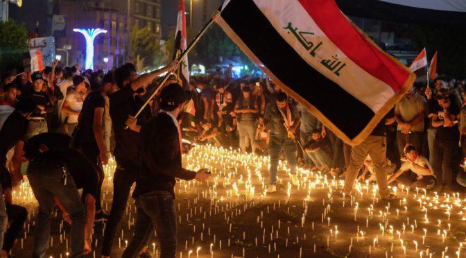 Демонстрации в Ираке