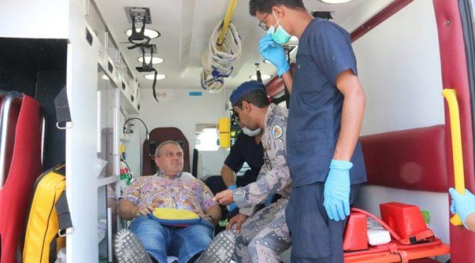 Береговая охрана Джазана спасла украинского моряка, внезапно заболевшего на ботру судна в Красном море