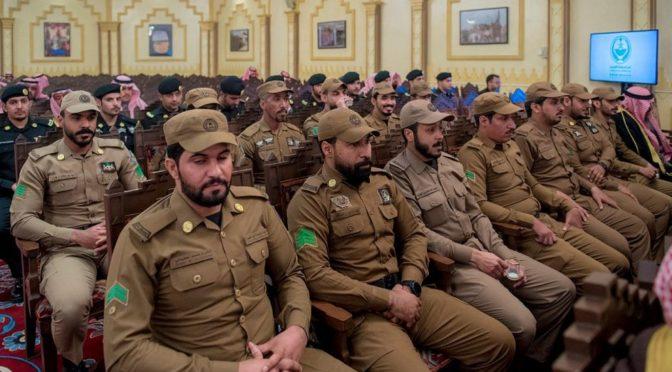 Его Высочество губернатор провинции Касым наградил ряд офицеров и рядовых дорожной полиции провинции за их выдающиеся усилия