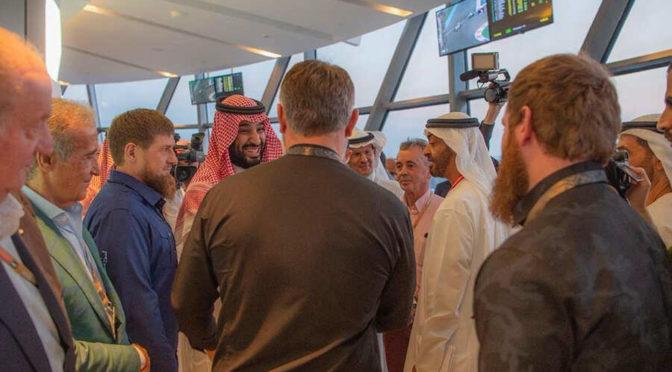 Его   Высочество наследный принц Саудовской Аравии, вице-президент ОАЭ и  наследный принц Абу Даби присутствовали на заключительном этапе  чемпионата мира Формулы-1