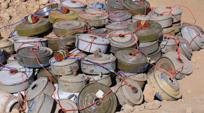 В течение четвертой недели декабря 2019 года в Йемене обезврежены 1604 мины