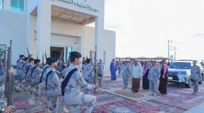 Его Высочество заместитель губернатора провинции Джуф инспектировал опороные пункты Пограничных войск в секторе аль-Айсавия
