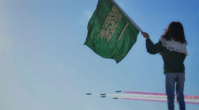 «Саудийские ястребы» украсили небо весеннего фестиваля в Бурайде пилотажными выступлениями