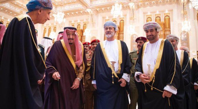 Служитель  Двух Святынь отправился в Султанат Оман