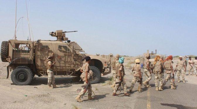 Армия Йемена начала широкое наступление на хусиитов на востоке провинции Сана