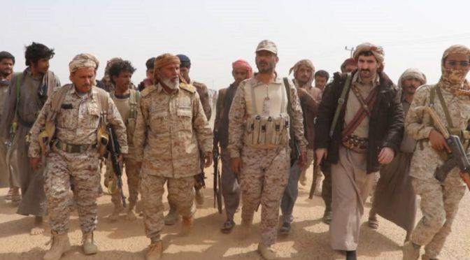 Силы йеменской армии освобождают новые объекты к востоку от района ас-Сафра в провинции аль-Джауф