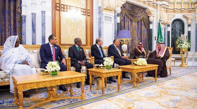Служитель  Двух Святынь принял министров иностранных дел арабских и африканских  стран, граничащих с Красным морем и Аденским заливом