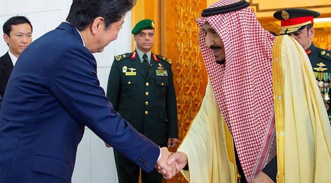 Служитель Двух Святынь и премьер-министр Японии провели официальные переговоры