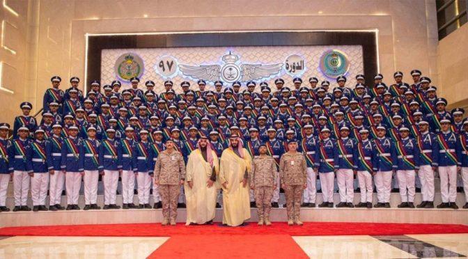 Под  покровительством Его Высочества наследного принца прошла церемония  97-ого выпуска студентов Авиационной академии имени короля Фейсала