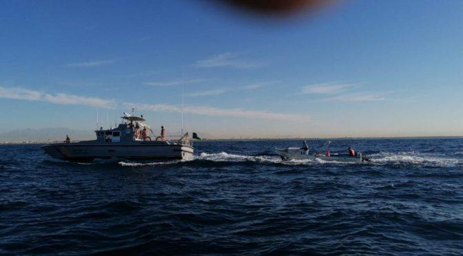 Береговая охрана провинции Лучезарной Медины спасла двух подданных и резидента, чья лодка сломалась в открытом море