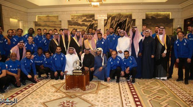 Чемпионы Азии в гостях у губернатора Эр-Рияда