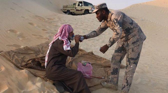 Найдены двое подданных, пропавших в пустыне Руб аль-Хали