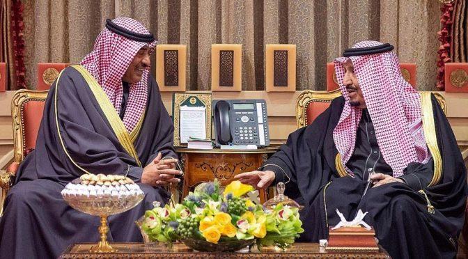 Служитель Двух Святынь провел официальные переговоры с премьер-министром Кувейта