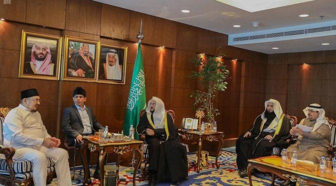 Министр по делам ислама Саудовской Аравии принял председателя Духовного управления мусульман Поволжья